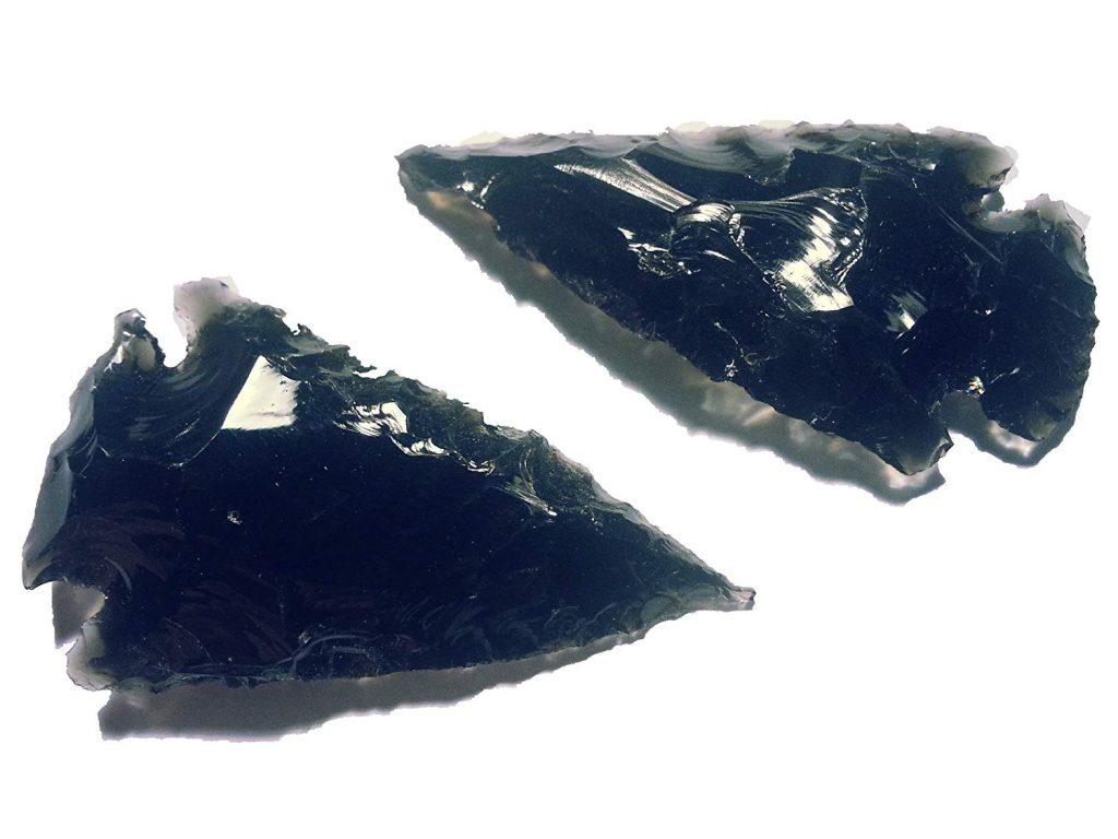 Puntas de flecha de obsidiana negra barata baratas precio precios comprar