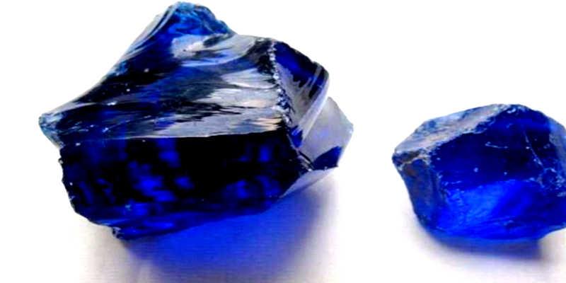 Obsidiana azul